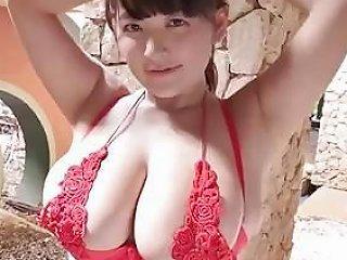 Saki Yanase Massive Tits Tease Bounce Softcore Non Nude Porn At Ah Me