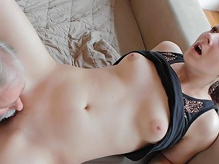 Beautiful Girl Gets Fucked By A Horny Old Man Her Boyfriend Comes And Watches Oldgoesyoung Txxx Com